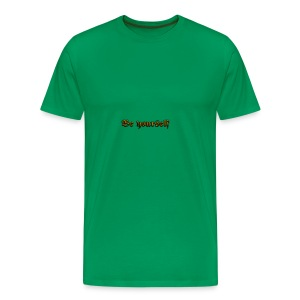 Cool Text Be yourself 261399349692711 - Men's Premium T-Shirt