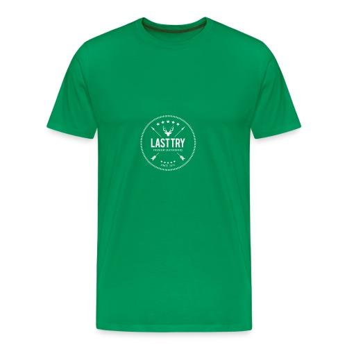 Deer Head Logo - Men's Premium T-Shirt