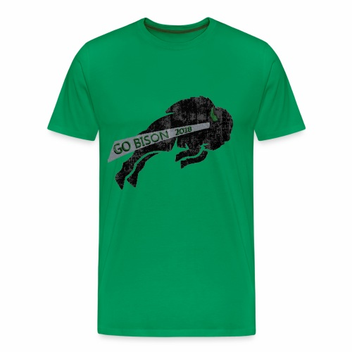Go Bison logo - Men's Premium T-Shirt