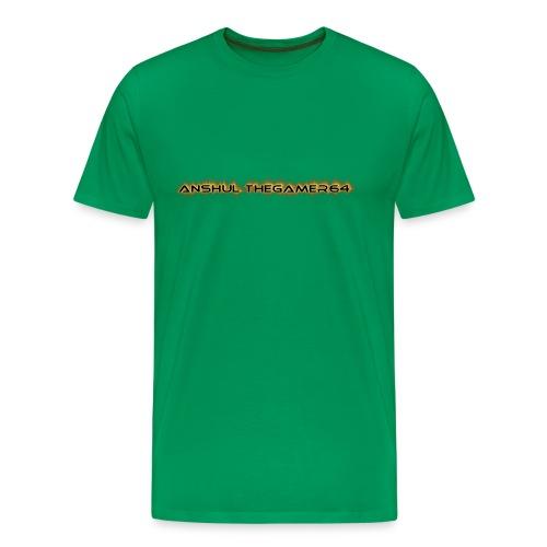 ANSHUL THEGAMER64 - Men's Premium T-Shirt