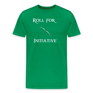 Roll For Initiative - Bow - Men's Premium T-Shirt
