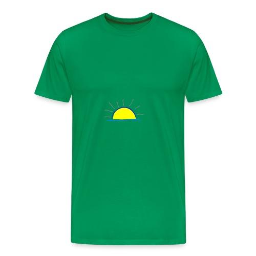 sunset hi - Men's Premium T-Shirt