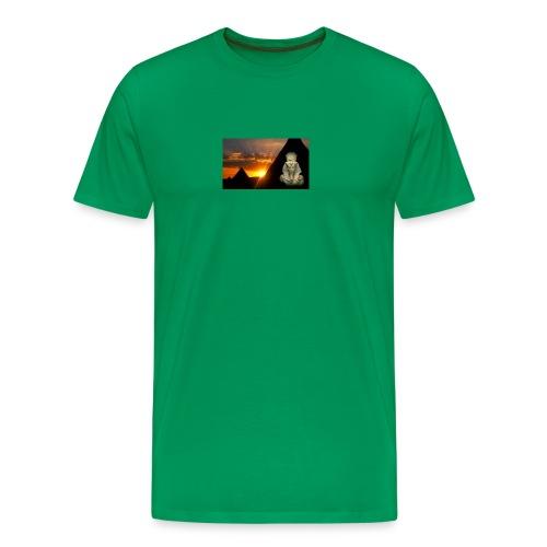 Egyptian Pharaoh Akhenaten - Men's Premium T-Shirt