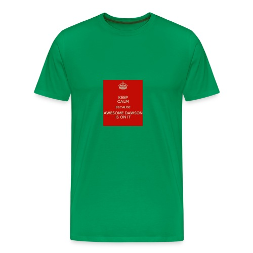 dawson is on it - Men's Premium T-Shirt