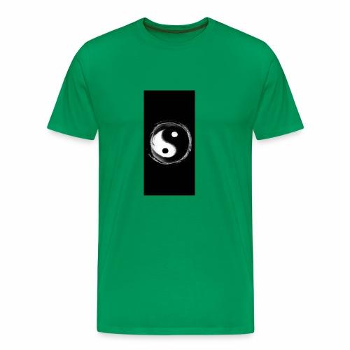 Diamond savage yin yang - Men's Premium T-Shirt