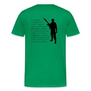 A Proud Soldier - Men's Premium T-Shirt