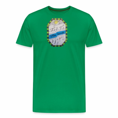2nd position Squamish Hull - Men's Premium T-Shirt