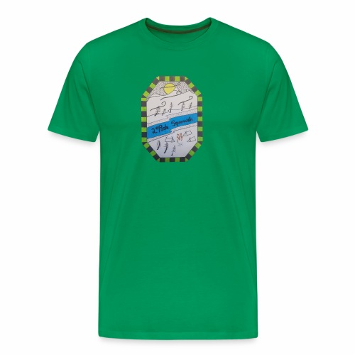 2nd position Squamish Hull - Men's Premium T-Shirt