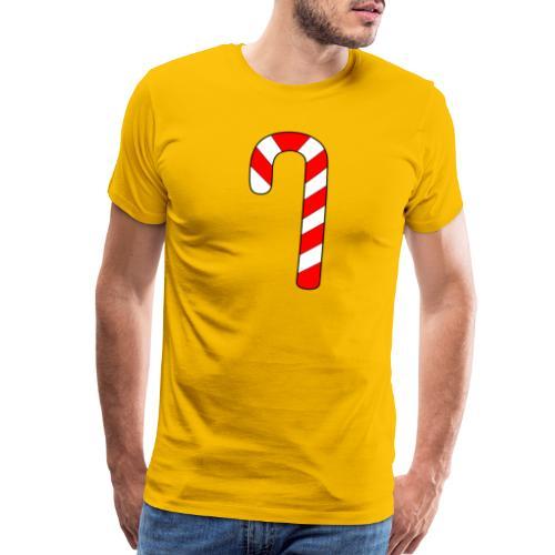 Candy Cane - Men's Premium T-Shirt