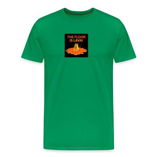 The Floor Is Lava - Men's Premium T-Shirt