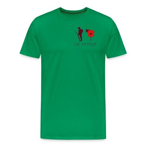 Lest We Forget - Men's Premium T-Shirt