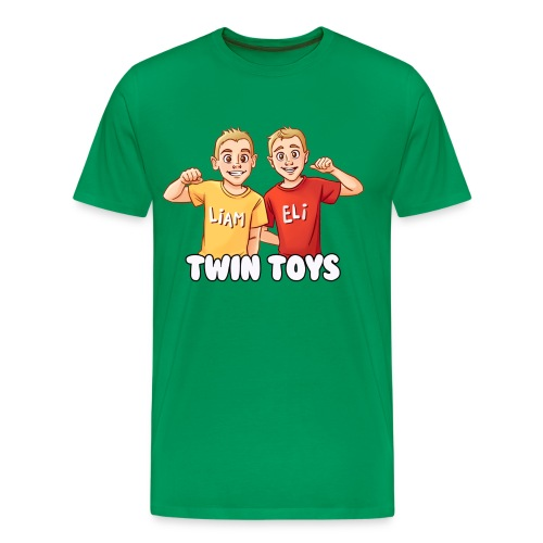 twintoys1500new1 - Men's Premium T-Shirt