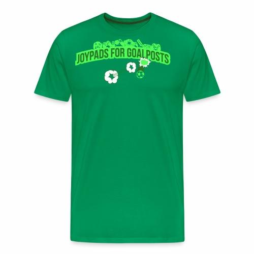 Joypads for Goalposts Classic Logo - Men's Premium T-Shirt