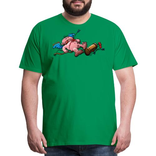 Who Killed Cupid? - Men's Premium T-Shirt