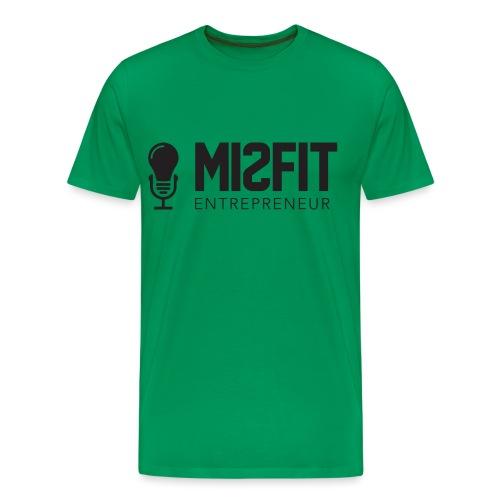 official misfit logo blac - Men's Premium T-Shirt