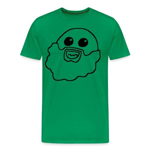 Cardboard Kraken Face BLK - Men's Premium T-Shirt