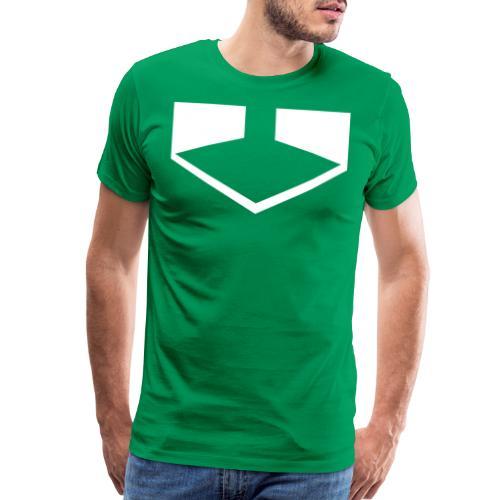 Time Green png - Men's Premium T-Shirt