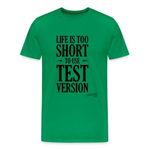 test version png - Men's Premium T-Shirt