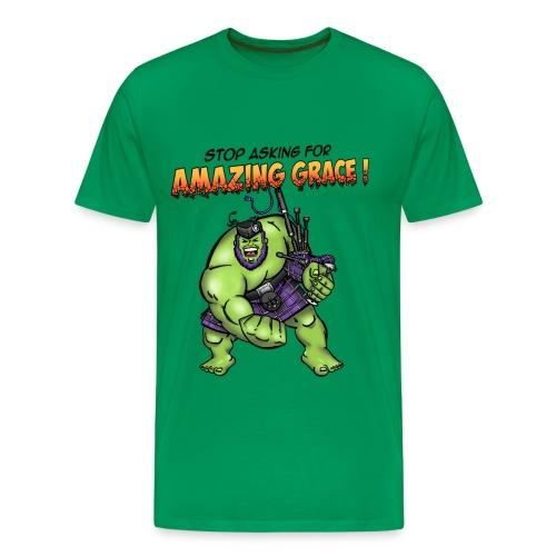 hulk title 2 - Men's Premium T-Shirt