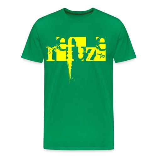 Corruption_YLW - Men's Premium T-Shirt
