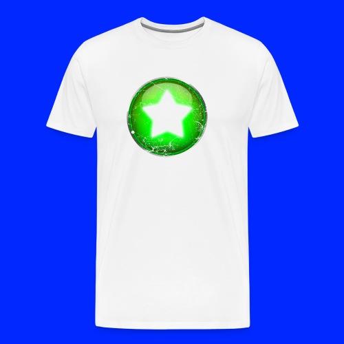 Vintage Power-Up Tee - Men's Premium T-Shirt