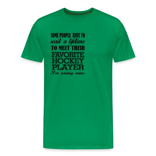 Favorite hockey player - Men's Premium T-Shirt