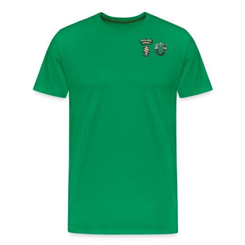 U S Army Special Forces Green Berets SSI DUI - Men's Premium T-Shirt
