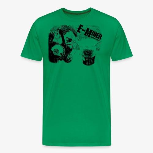 E Miner Series Design 1 - Men's Premium T-Shirt