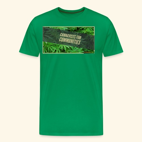 cannavists t-shirt - Men's Premium T-Shirt