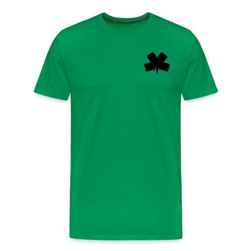 PixelSashay - Black Logo - Men's Premium T-Shirt