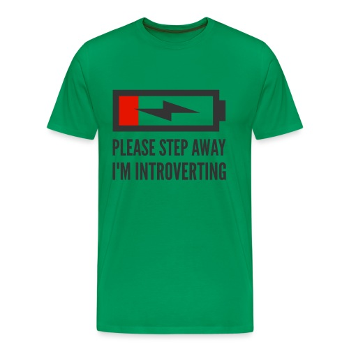 introverting - Men's Premium T-Shirt