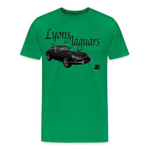 Lyons for Jaguars - Men's Premium T-Shirt