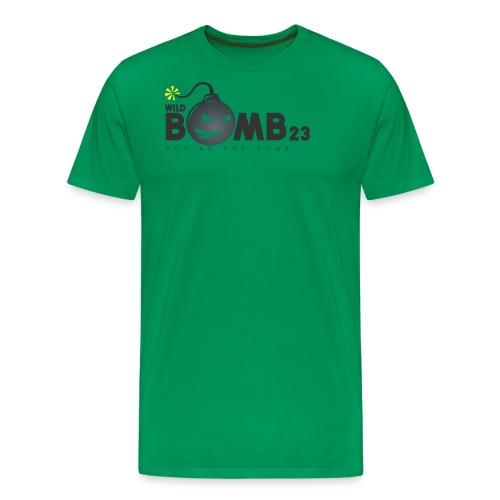 WildBomb23 Black Logo - Men's Premium T-Shirt