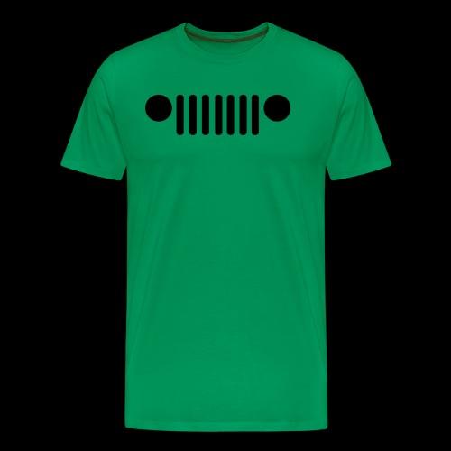 Jeep Grille - Men's Premium T-Shirt