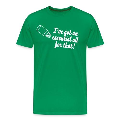 essential oil design - Men's Premium T-Shirt