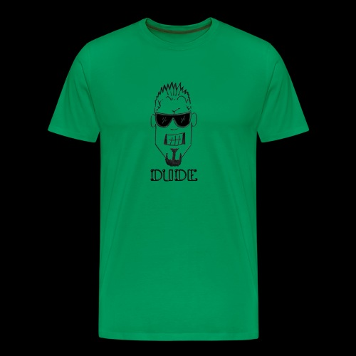 Dude Head 1 - Men's Premium T-Shirt