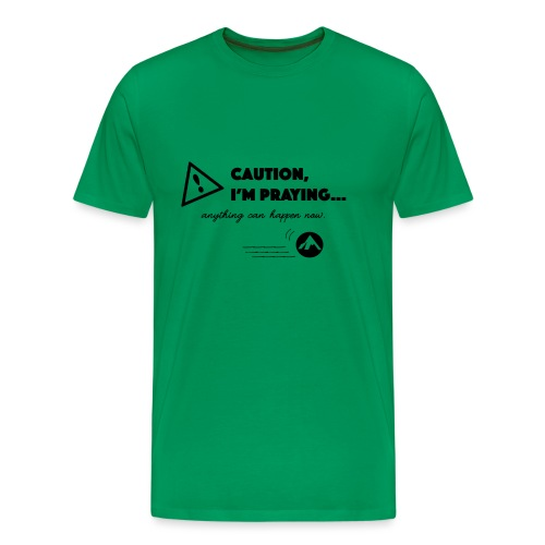 Anything Can Happen Now - Men's Premium T-Shirt