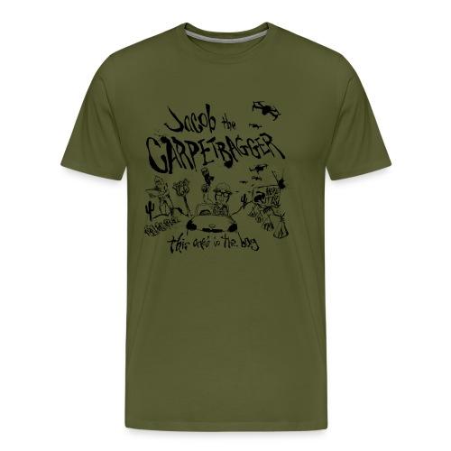 J The C Rt 66 png - Men's Premium T-Shirt
