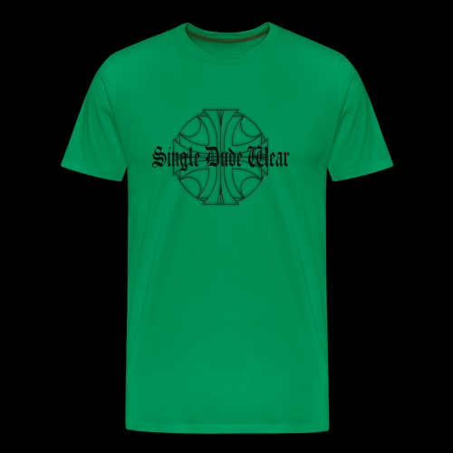 SDW maltese old letters dude - Men's Premium T-Shirt
