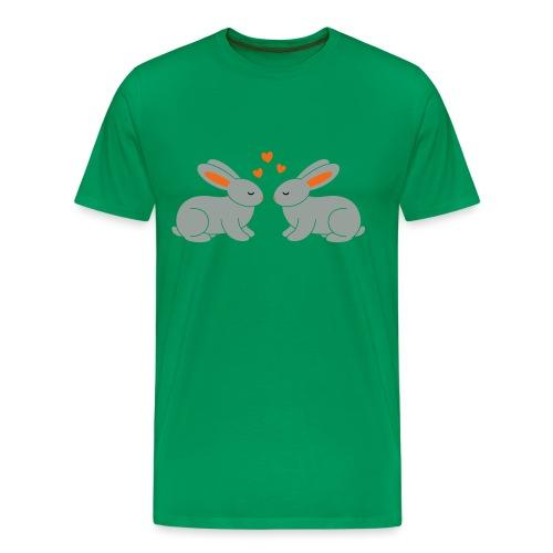Rabbit Love - Men's Premium T-Shirt
