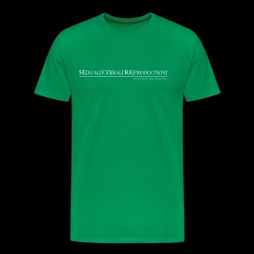 SECORE - SExual COral REproduction - Men's Premium T-Shirt