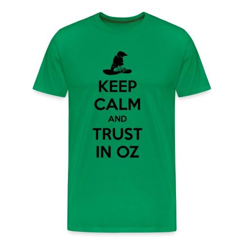 keep calm BLACK png - Men's Premium T-Shirt