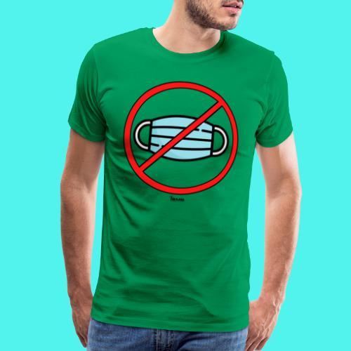 BMG- No Mask Collection - Men's Premium T-Shirt