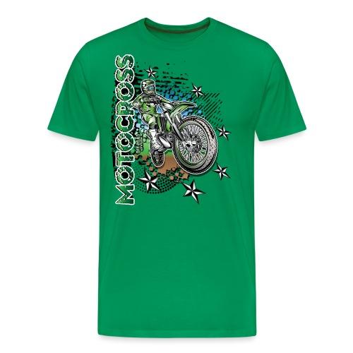 Kawasaki Dirt Bike Shirt - Men's Premium T-Shirt