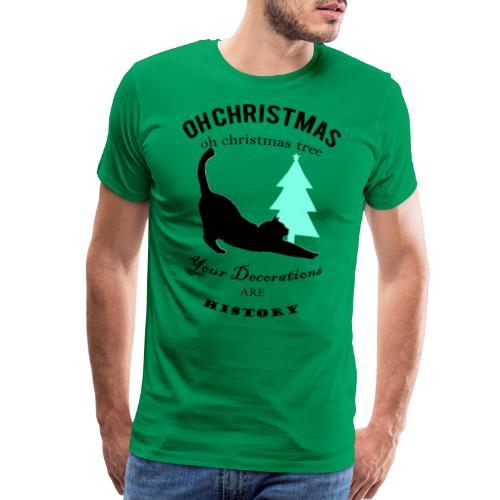 Christmas kitty - Men's Premium T-Shirt