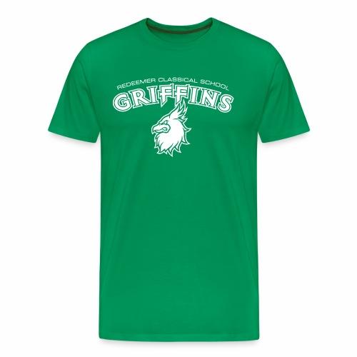 Griffins Arch and Head - Men's Premium T-Shirt