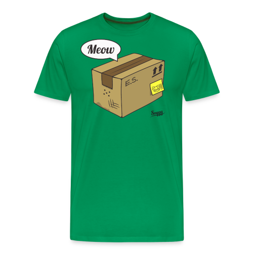 Schroedinger's cat (version 1) - Men's Premium T-Shirt