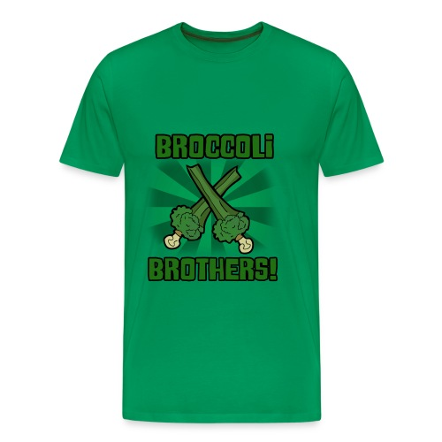 broccoli 1 png - Men's Premium T-Shirt