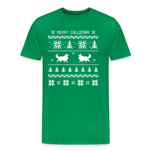 Merry Colliemas - Men's Premium T-Shirt
