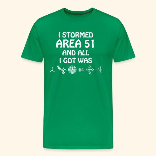 Area 51 - Symbols - Men's Premium T-Shirt